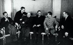 Во время встречи в Кремле 14 августа 1942 РГАСПИ