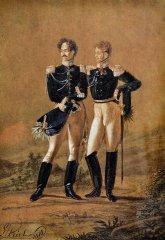 Флигель-адъютанты. 1816  Л.И. Киль