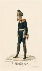 Император АлександрI. 1813 Х.Ф.Штёльцель по оригиналу Л.И. Киля