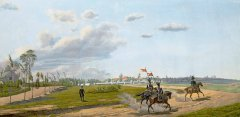Лагерь лейб-гвардии Волынского полка под Варшавой. 1824 Л.И. Киль