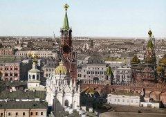 Вид наВоскресенский монастырь иКрасную площадь. 1900-е