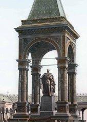 Памятник императору АлександруII   вКремле. 1900-е