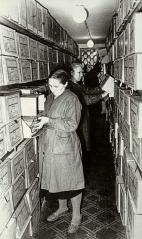 В хранилище ЦГАКА 1960е гг. РГВА. Справочно‑ информационный фонд