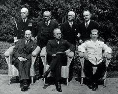 Потсдамская  конференция глав трех  держав. Июль 1945. РГАСПИ